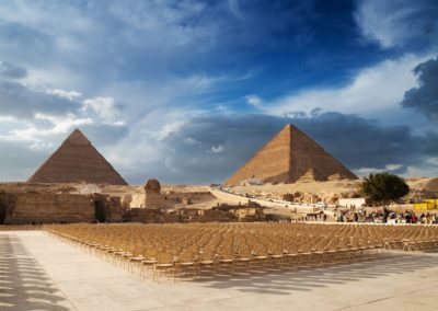 Cairo-pyramids-in-Egypt